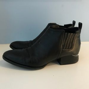 Alexander Wang Cut Out Leather Kori Ankle Boots